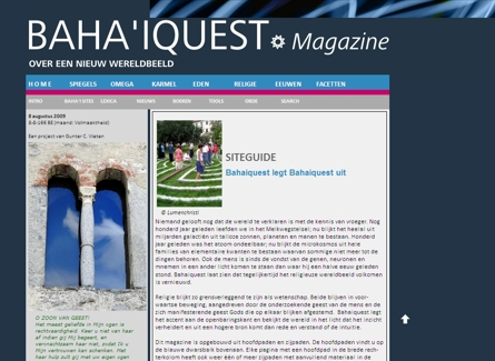 website Bahaiquest.nl